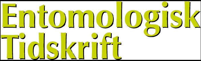 Entomologisk Tidskrift